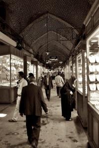 The Bazaar in Tabriz