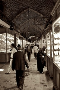 The Bazaar in Tabriz