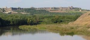 Diyarbakır, seen from a distance