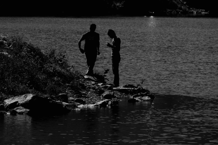 Exchanging Secrets By The Lake
