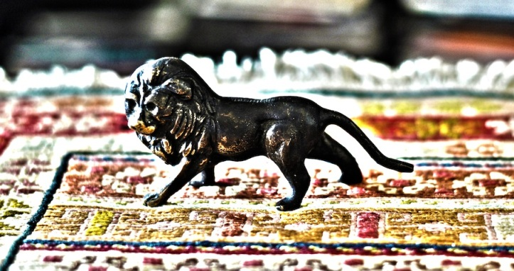 The Lion On The Carpet