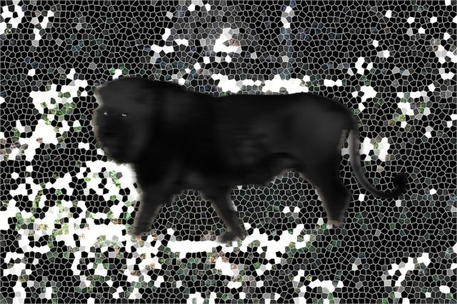 The Strange Case Of The Lion Mosaic