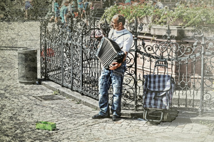 The Lonely Accordionist