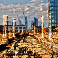 Großstadtkulissen / Cityscapes - A Forthcoming Exhibition By rabirius In Frankfurt