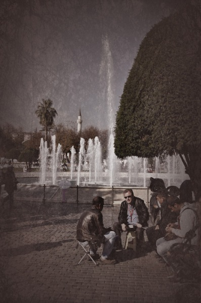 A Conversation, Under A Tree