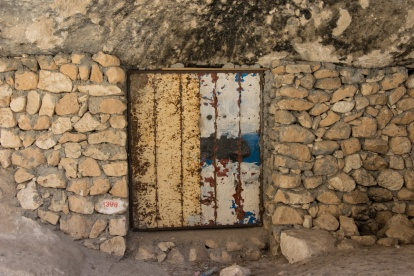 Door Of A Cave House