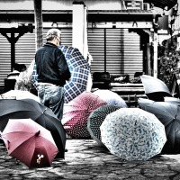 The Umbrella Salesman
