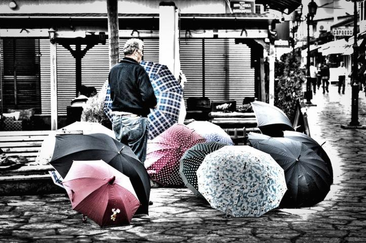 The Umbrella Salesman