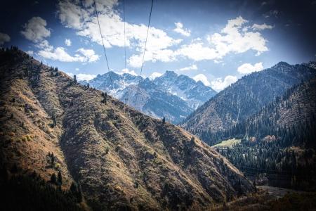 Mountain Landscape in Kazakhstan