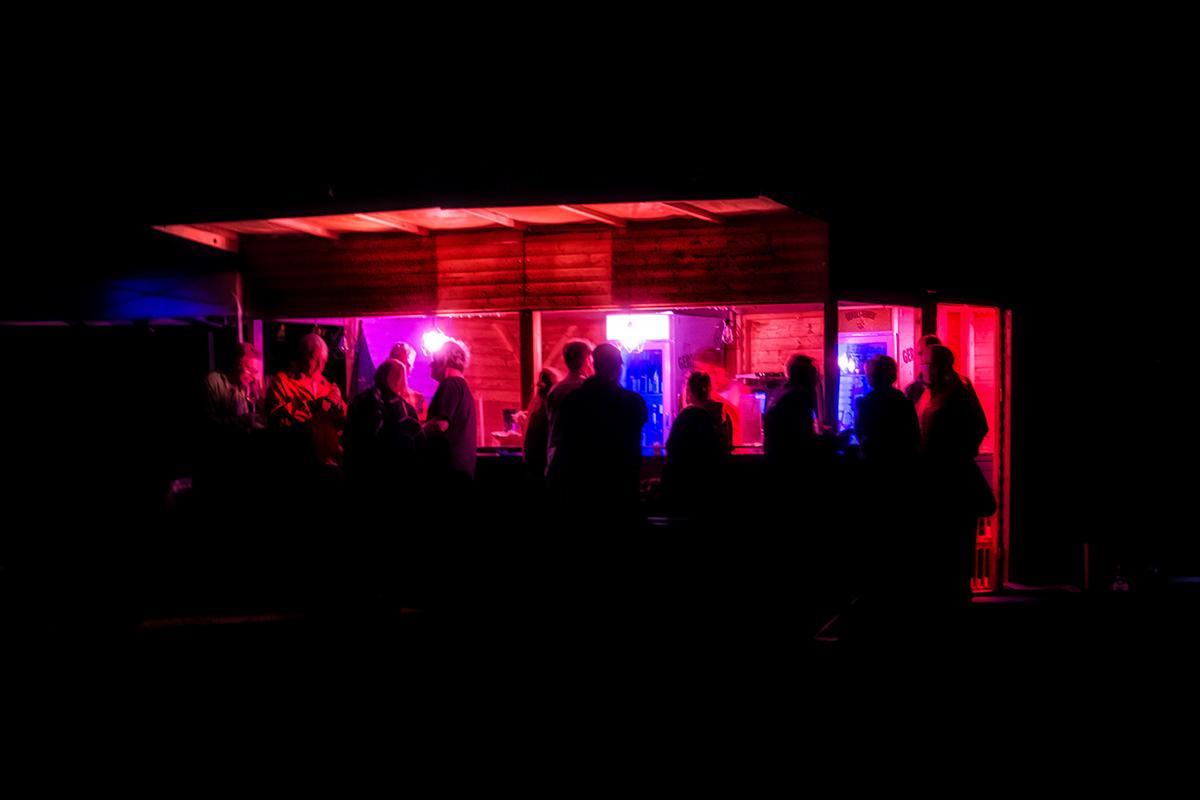 Nighthawks at the Snack Bar