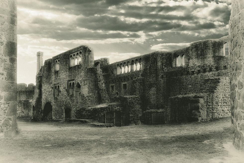 The Ruined Hill Castle