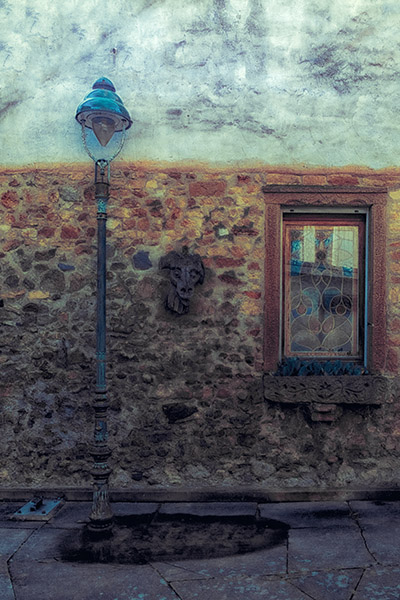 The Window, The Lamp, The Mask And The Stain