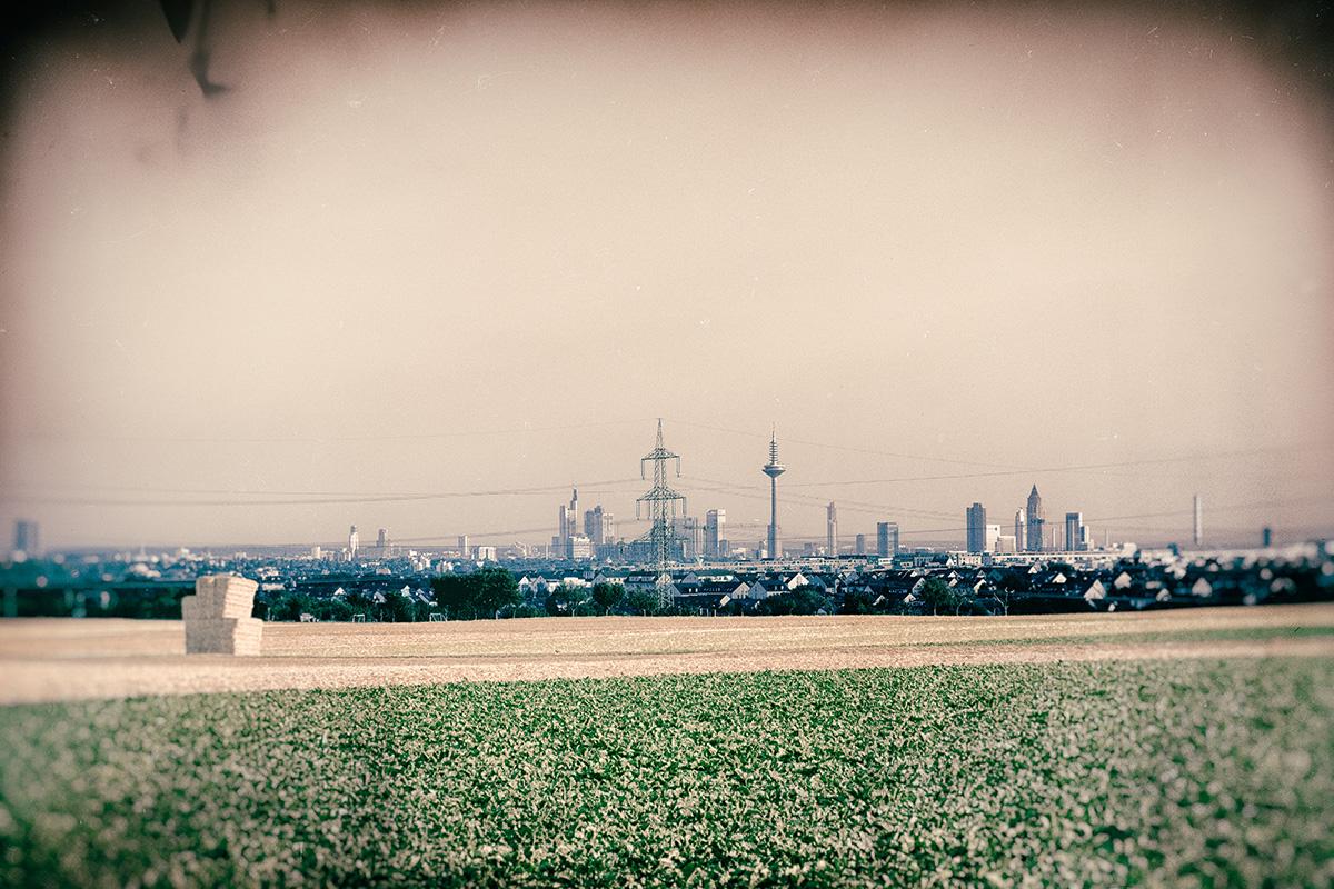 Beyond The Fields A City Lies